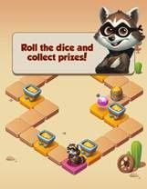 Pet Master roll the dice feature